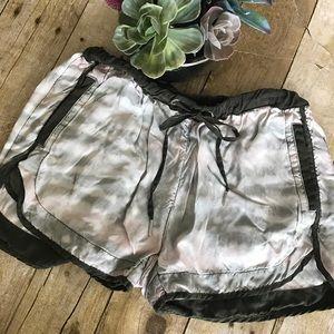 Blank NYC Tie Dye Drawstring Shorts